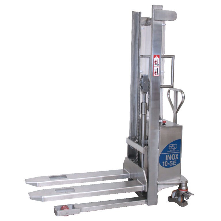 BADA 10-SE Semi electric pallet stacker