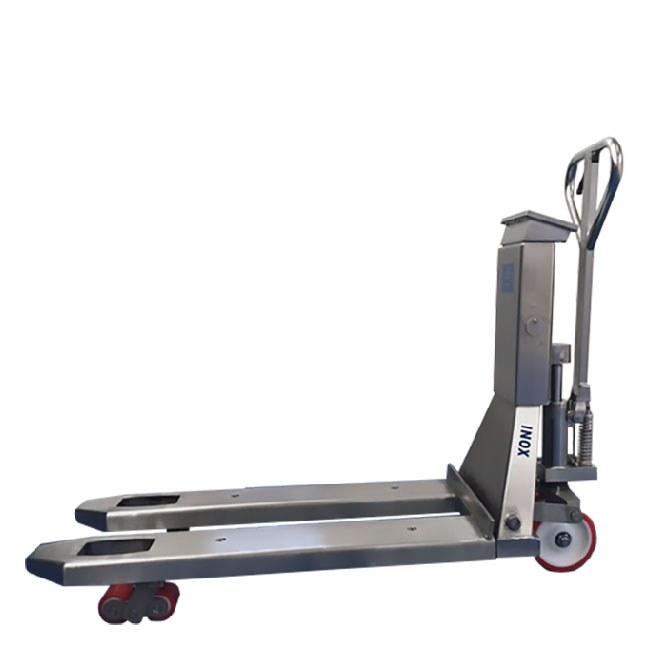 BADA TMB-20S/T Transpaleta manual con sistema de pesaje integrado