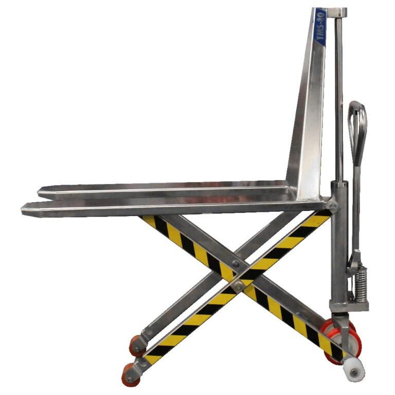 BADA TMS-80 Manual scissor lift pallet truck