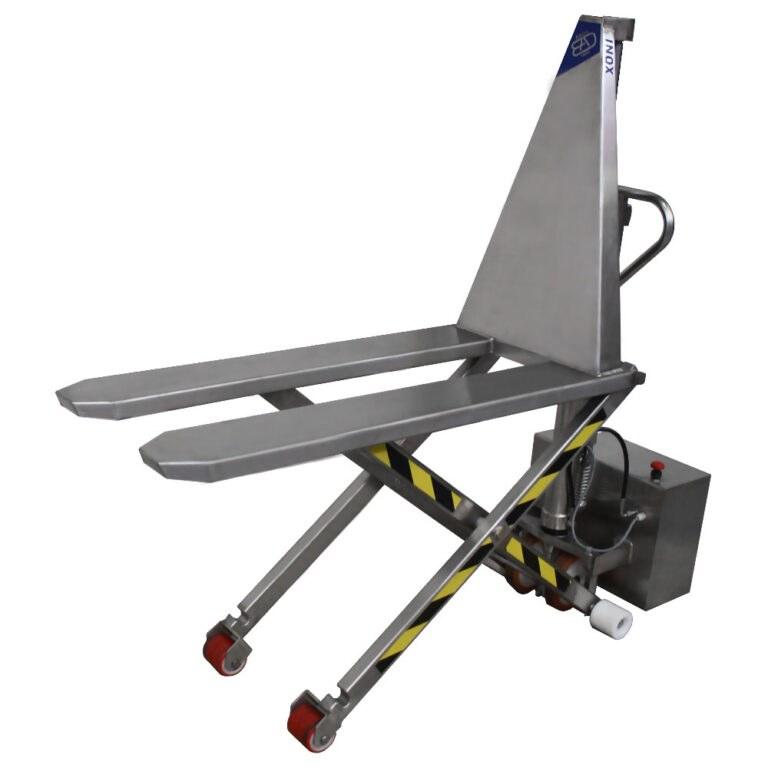 BADA TMS-80E Transpaleta manual de elevación tijera eléctrica